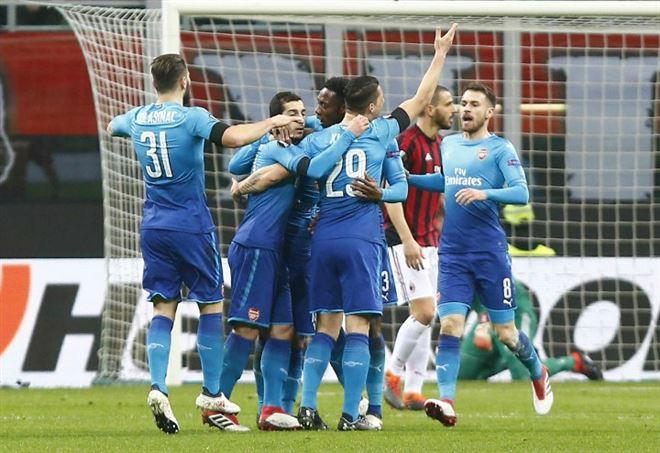 Video Milan Arsenal, Europa League (Foto LaPresse)