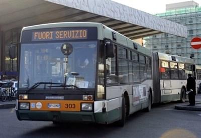 Sciopero trasporti (Infophoto)