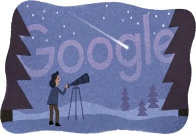 Il Doodle di Google per Beatrice Tinsley