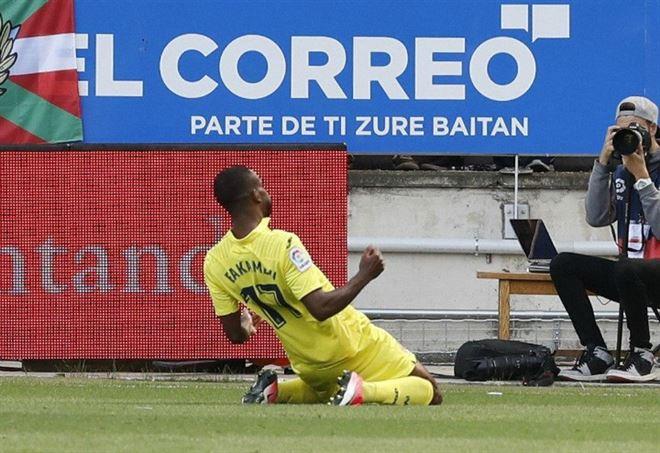 Bakambu a caccia di gol nel Villarreal (foto LaPresse)