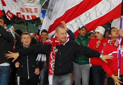 I tifosi del Bari (Infophoto)