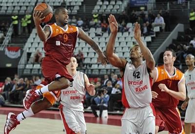 dei giocatori di basket (infofoto)