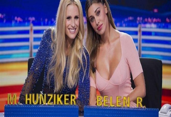 Sulla gravidanza di Belen Rodriguez interviene Michelle Hunziker