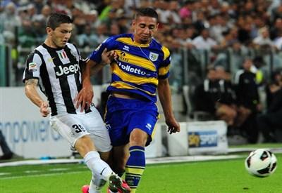 Ishak Belfodil, 20 anni, attaccante franco-algerino del Parma (Infophoto)