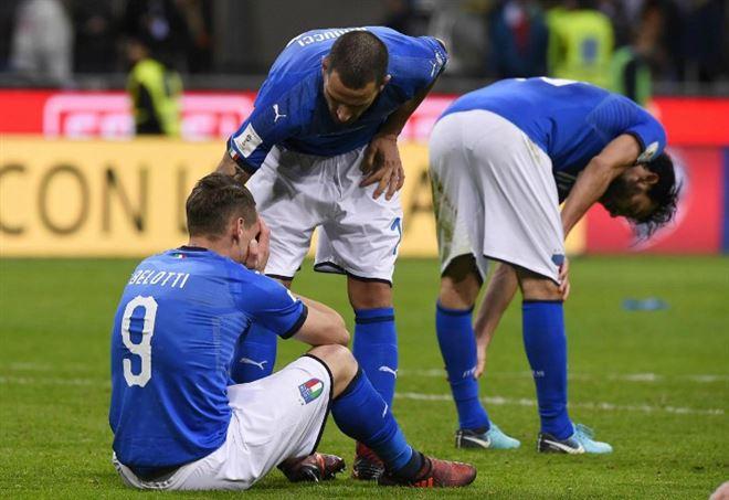 L'Italia è fuori dal Mondiale 2018 (Foto LaPresse)