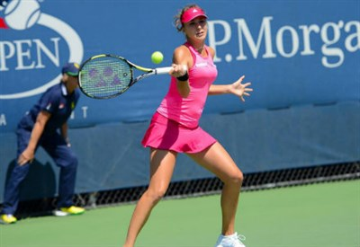 Belinda Bencic, 17 anni, attualmente numero 58 del ranking WTA