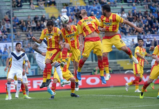 Video Pisa Benevento (LaPresse)