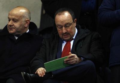 Benitez, intervenuto oggi al Forum Uefa   (Infophoto)