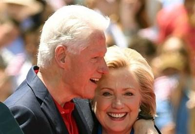 Bill Clinton con Hillary