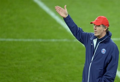 Laurent Blanc, 50 anni, allenatore del PSG (INFOPHOTO)