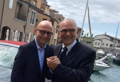 Da sinistra: Paolo Lanzoni ed Eugenio Blasetti