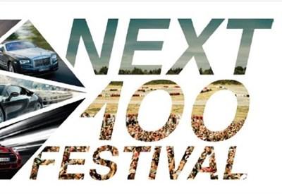 Il logo del Next 100 festival