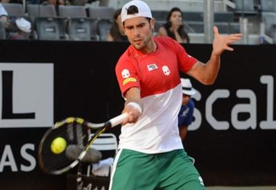 Simone Bolelli, 29 anni, numero 56 ATP (Infophoto)