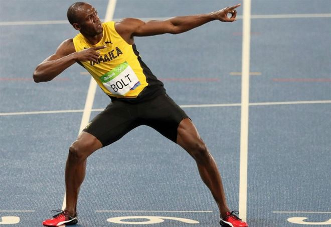 Infortunio Usain Bolt, video - La Presse
