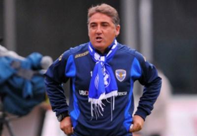 Roberto Boscaglia, 47 anni, allenatore del Brescia (INFOPHOTO)