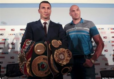 Wladimir Klitschko-Tyson Fury (foto dal web)