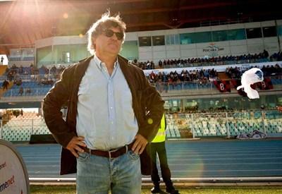 Maurizio Braghin, allenatore della Carrarese (Infophoto)