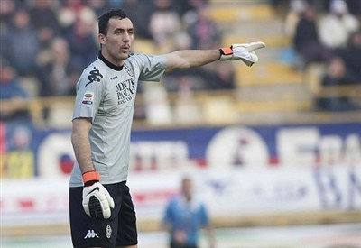 Zeljko Brkic, portiere dell'Udinese (Infophoto)