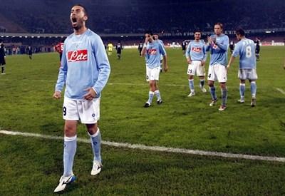 Christian Bucchi, qui con la maglia del Napoli: è il nuovo allenatore del Pescara (Infophoto)