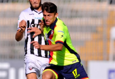 Ante Budimir, 24 anni, attaccante croato del Crotone (INFOPHOTO)