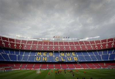 Nubi sul Camp Nou: al Barcellona riuscirà la Remuntada? (Infophoto)