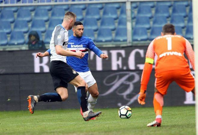Diretta Sampdoria Inter, Serie A 5^ giornata (Foto LaPresse)