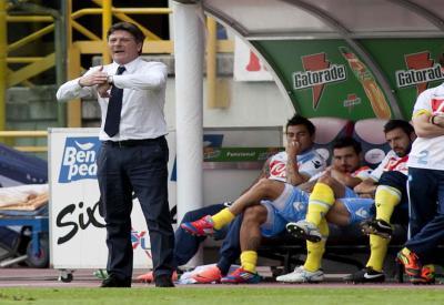 Walter Mazzarri, allenatore del Napoli (Foto Infophoto)