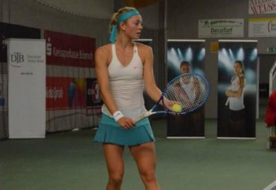 Carina Witthoeft, 20 anni, attuale numero 64 del ranking WTA