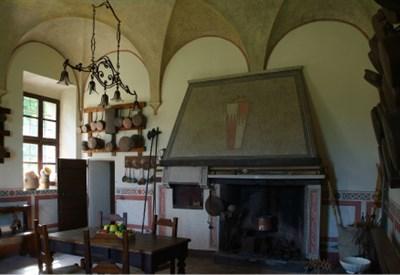 La cucina del Castello San Pietro