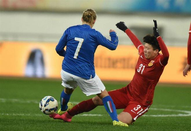 Diretta Italia Moldavia, calcio femminile (Foto LaPresse)