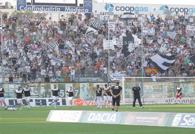 Lo stadio Dino Manuzzi di Cesena (Infophoto)