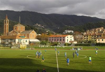 Lo stadio Comunale di Chiavari, casa della Virtus Entella (dall'account Twitter ufficiale @V_Entella)