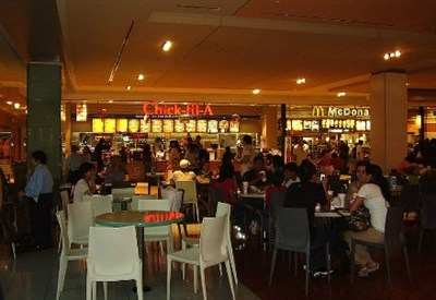 Chick-fil-A in a food court