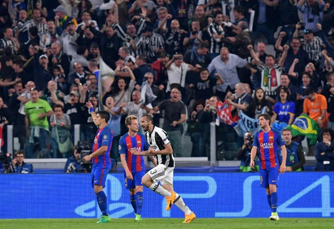 Champions League: il Barcellona non punge, Juve in semifinale