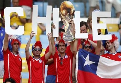 Il Cile si gioca oggi il primato nel gruppo A (Infophoto)