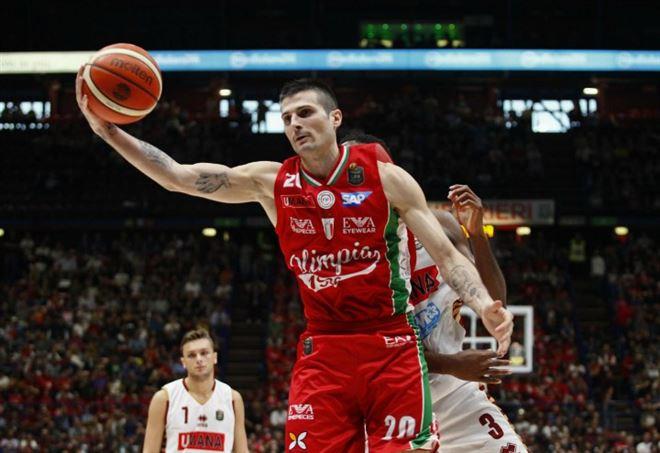 Diretta Olimpia Milano Venezia, basket Serie A1 (Foto LaPresse)