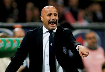 Stefano Colantuono, allenatore dell'Atalanta (Foto Infophoto)