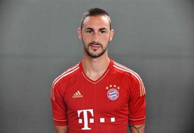 Diego Contento, terzino sinistro del Bayern Monaco (Infophoto)