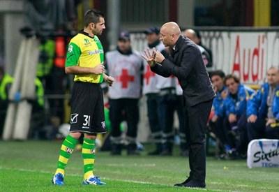 Eugenio Corini, allenatore Chievo (Foto Infophoto)
