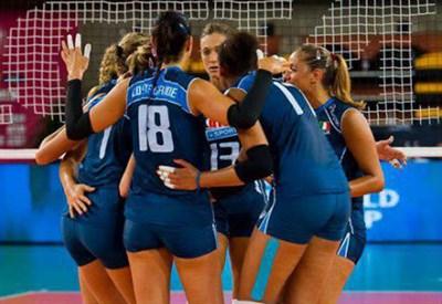 La nazionale femminile di volley questa sera gioca contro la Cina