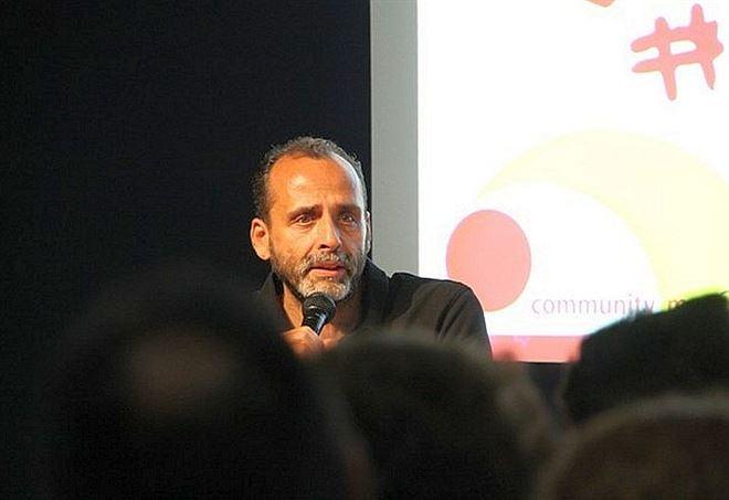 Nello Cristianini durante un intervento al Meeting di Rimini 2017