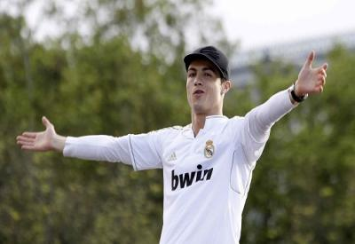 Cristiano Ronaldo, stella del Portogallo (Infophoto)