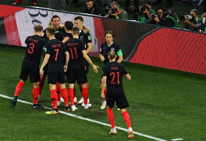 Risultati immagini per croazia inghilterra 1-1