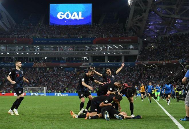 Video Francia Croazia, finale Mondiali 2018 (Foto LaPresse)