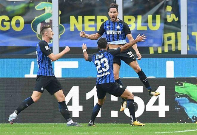 Serie A 6^ giornata l'Inter ha battuto il Genoa