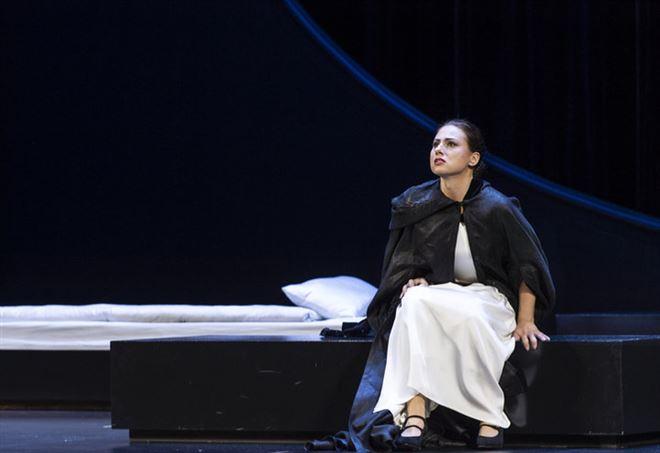 Una scena dell'opera (© Salzburger Festspiele / Ruth Walz)