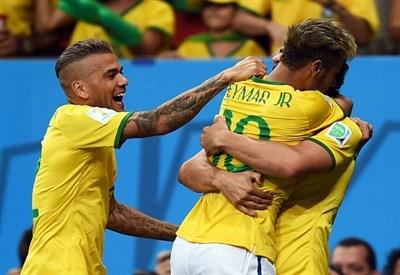 Neymar, Brasile (Infophoto)