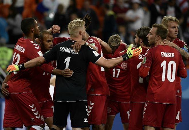 Video Danimarca Australia, Mondiali 2018 gruppo C (Foto LaPresse)