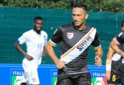 David Di Michele, 39 anni, nuovo attaccante della Lupa Roma (Infophoto)