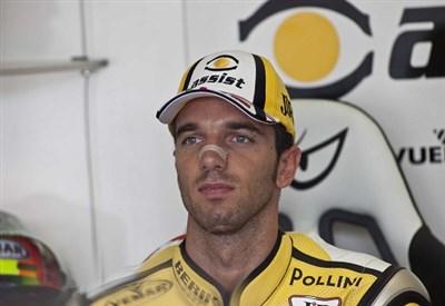 Alex De Angelis, pilota 31enne (Infophoto)